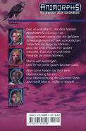 Animorphs 5 the predator Der Raub german back cover
