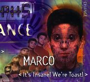 Animorphs Alliance poster Marco close up