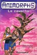 Animorphs 17 the underground la caverna spanish cover ediciones B