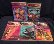 Five Animorphs french canadian les editions scholastic books
