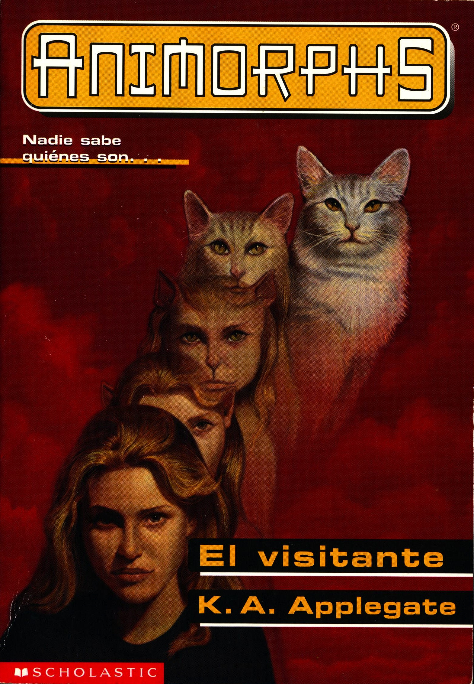 image animorphs book 2 the visitor spanish cover el visitante jpg