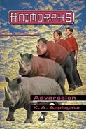 Animorphs 16 the warning Advarselen Norwegian cover