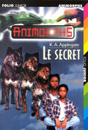 Animorphs secret book 9 french cover