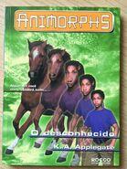 Animorphs 14 the unknown o desconhecido brazilian cover