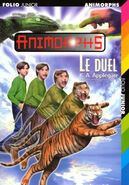 Animorphs 26 the attack Le Duel French cover