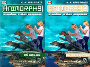Animorphs 12 the reaction Phản tác dụng vietnamese covers books 23 and 24