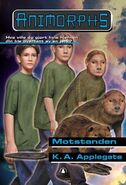 Animorphs 47 the resistance Motstanden Norwegian cover
