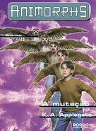 Animorphs 13 the change A mutacao brazilian cover Rocco