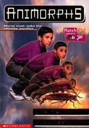 Animorphs 30 the reunion english canadian cover with canadian watch tv logo