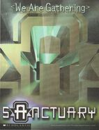 Animorphs Sanctuary color logo poster