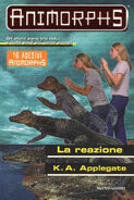 Animorphs 12 the reaction La reazione italian cover