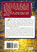 Animorphs 16 the warning back cover