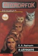 Animorphs 2 the visitor A látogató hungarian cover