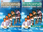 Animorphs 9 the secret Pháo đài ma vietnamese covers books 17 and 18