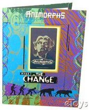 Animorphs school folder 3 make the change