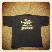 The invasion has begun shirt