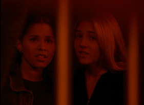 Rachel and Cassie in The Leader PT2