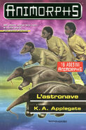 Animorphs 24 the suspicion L astronave italian cover