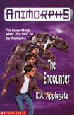 Animorphs 3 the encounter UK cover earlier