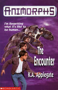 Animorphs 3 the encounter UK cover earlier