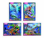 4228 B Animorphs All Four Jigsaw Puzzles Catalog Promo Image