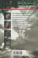 Animorphs 29 the sickness Der Parasit back cover
