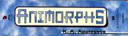 Animorphs boxed set 1-4 spine