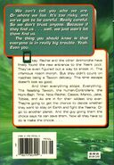 Animorphs book 7 the stranger back cover