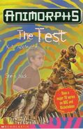 Animorphs 43 the test UK cover