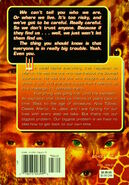 Animorphs megamorphs 2 mm2 time of dinosaurs back cover ax