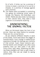 Aa handbook 19 animorphing animal factor