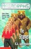 Animorphs 7 the stranger UK cover earlier