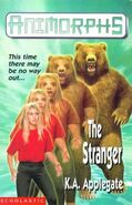 Animorphs 7 the stranger UK cover earlier
