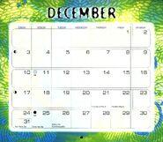 13 2000 calendar December month