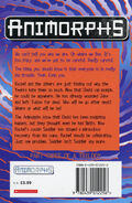 Animorphs 22 the solution UK back cover