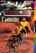 Animorphs the android book 10 french cover