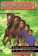 The Unknown (Animorphs 14) E-Book Scholastic Cover