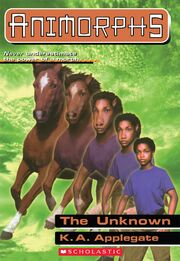 Animorphs 14 the unknown ebook Scholastic Cover