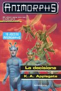Animorphs 18 the decision La decisione italian cover