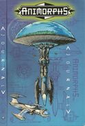 Animorphs ships journal full scan front