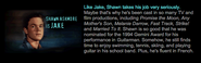 Shawn ashmore jake bio on scholastic animorphs cast info
