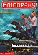 Animorphs 12 the reaction La reaccion spanish cover emece