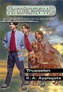 Animorphs 21 the threat Trusselen Norwegian cover