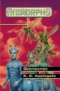 Animorphs 18 the decision Gjensynet Norwegian cover