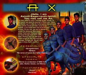 Animorphs 1999 calendar september ax