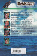 Animorphs 4 the message Die Botschaft german back cover