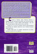 Animorphs 3 the encounter El encuentro spanish back cover mariposa