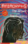Animorphs uk cover answer beginning