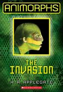 Animorphs 1 the invasion 2011 front cover another view