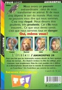 Animorphs 29 the sickness french back cover